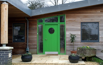 About South Wiltshire Green Doors