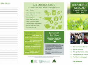 The Green Doors Brochure has arrived!